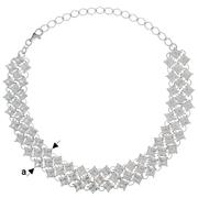 Колье с кристаллами Swarovski 925 АМА Львов