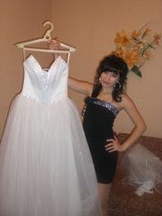свадебное платье за 1500гр