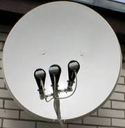 Спутниковое ТВ. Установка спутниковых антенн