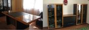 Набор офисной мебели (Италия,  орех,  б/у)