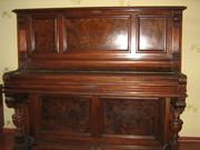 Антикварное пианино G.Schwechten