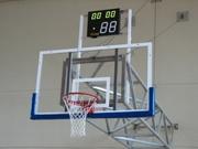 Щиты баскетбольные с корзинами для улицы и зала