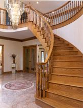 Изготавливаем лестницы из натурального дерева