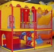 Сетка заградительная для детских игровых лабиринтов по размерам заказч