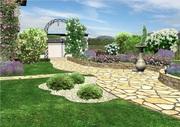 Ландшафтный дизайн,  3D визуализация