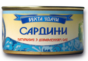 Рыбные консервы собственного производства