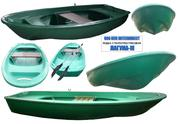 Лодка моторно-гребная стеклопластиковая лагуна-м.