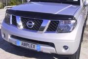 Аирдефлектор капота мухобойка Nissan Pathfinder (R51) / Navara (D40)