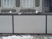 Заборы,  ворота из профнастила. Изготовление и монтаж