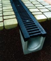 Системы водоотвода,  водостоки,  бетонне желоба,  водоотвод