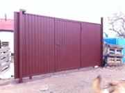 Рельсовые откатные ворота.