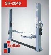 SR-2040 Автомобильный двухстоечный электрогидравлический подъемник (22