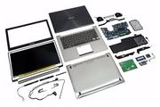 Матрицы,  клавиатуры,  батареи для ноутбуков