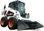 Земельные работы bobcat s175