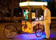 Велокофейня трёхколёсный велосипед для уличной торговли