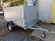 Продам прицеп легковой МЗСА 01 высокий тент в Крыму