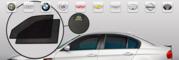Каркасные автошторки Autozoom