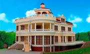 3Д дизайн фасадов домов,  коттеджей в Крыму,  декор, Фасадные работы