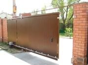 Изготовим,  установим металлические ворота,  калитки,  двери
