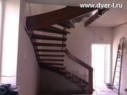 Межэтажные деревянные лестницы.