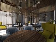 Дизайн ресторана,  кафе,  бара. Крым. Симферополь.