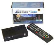 Тюнер Eurosky ES-15 для Т2,  Youtube,  IPTV в Красногвардейске