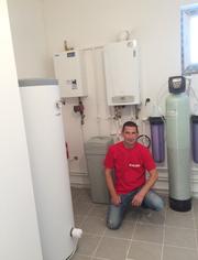 Отопление Тёплый пол Сантехника Водопровод