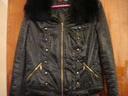 Продаётся куртка: черная,  короткая