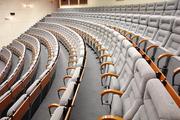 Кресла для кинотеатров, аудиторий. Обустройство залов, планировка, производство, монтаж.